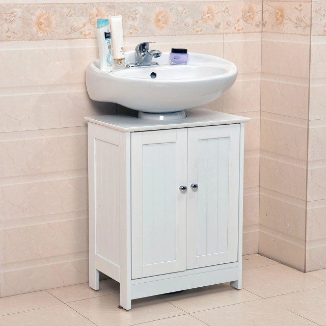 Undersink Bathroom Cabinet Cupboard Vanity Unit Under Sink Basin