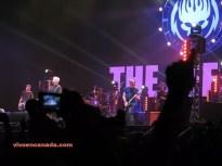 The Offspring animó la noche