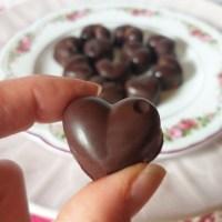 Σοκολατάκια με 2 υλικά, χωρίς γλουτένη