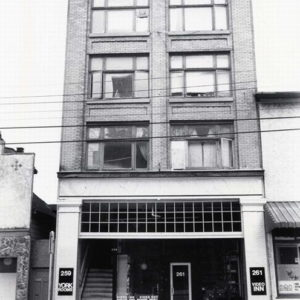 Video Inn, 261 Powell Street, Vancouver, c.1978