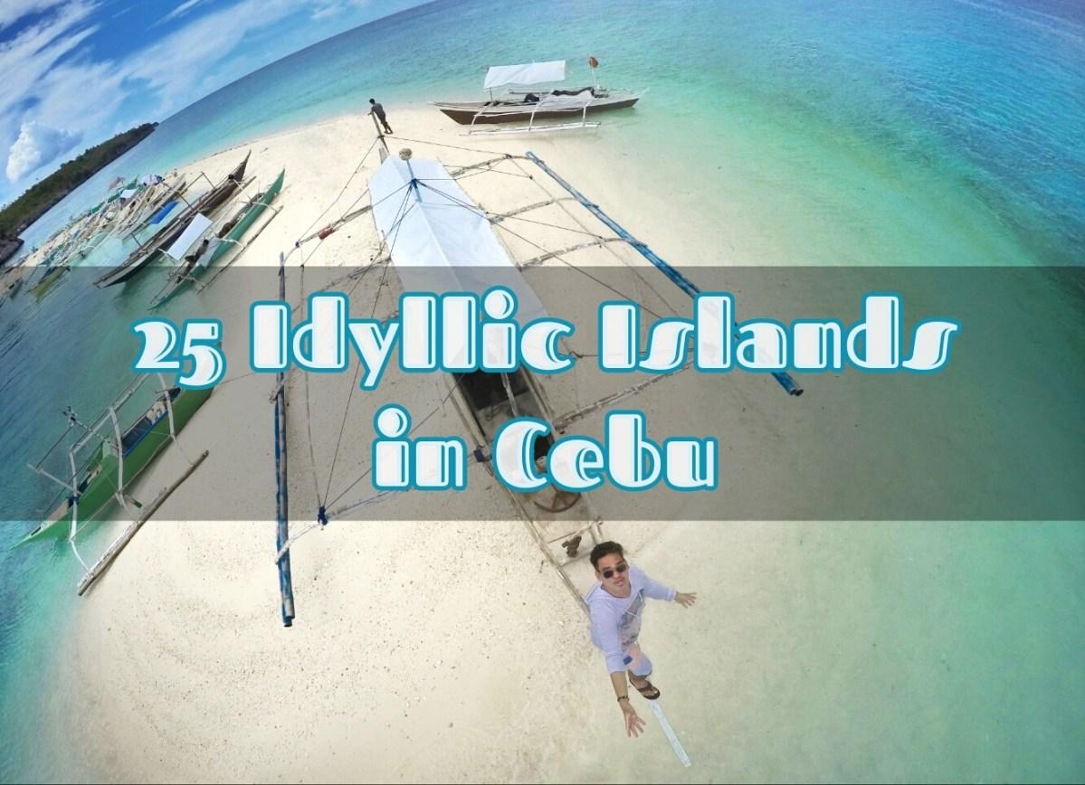 25 Idyllic Islands in Cebu