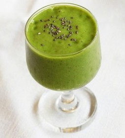 tarwegras smoothie - detox