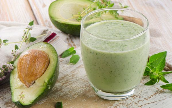 avocado beauty smoothie 2