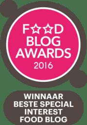 Award beste special interest blog
