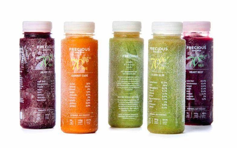 Frecious (onze favoriete juices) met €15,- korting bestel je hier.