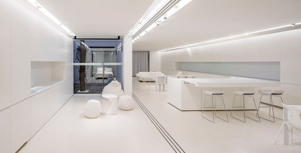 Appartement Design Futuriste Du Minimalisme Pouss La