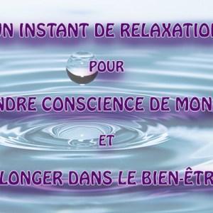 séance de relaxation connexion corps - esprit