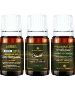 Basil Essential Oil-Vivorific Health LLC-