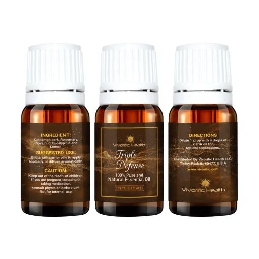 Triple Defense Essential Oil - Vivorific Health LLC-