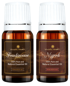 Frankincense and Myrrh Essential Oil-Vivorific Health LLC