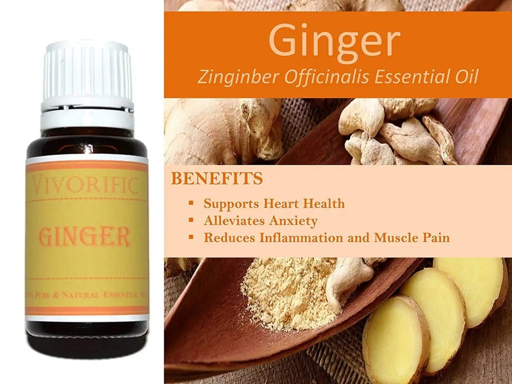 Ginger Essential Oil Combo_Vivorific Health_