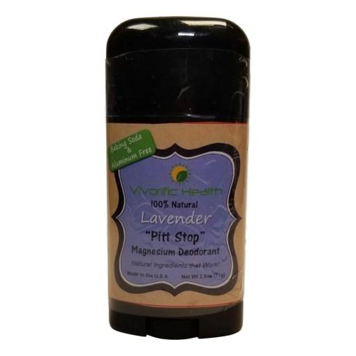 Lavender Magnesium Deodorant - Vivorific Health