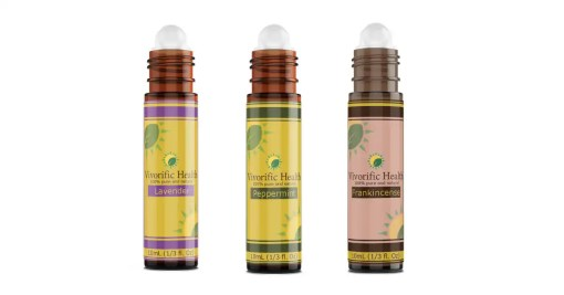 Lavender_Peppermint_Frankincense_Essential Oil Roll-On Combo-Vivorific Health