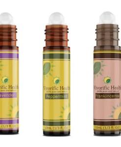 Lavender_Peppermint_Frankincense_Essential Oil Roll-On Combo-Vivorific Health