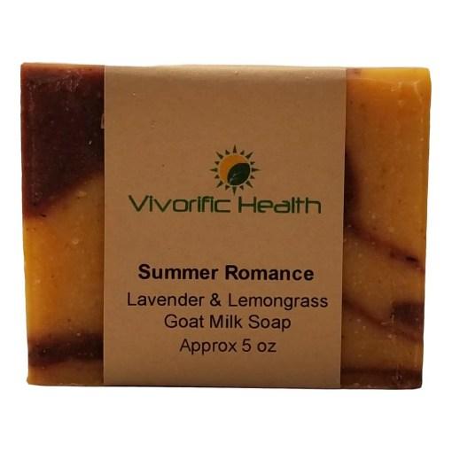 Summer Romance Goat Milk Soap - Vivorific Health
