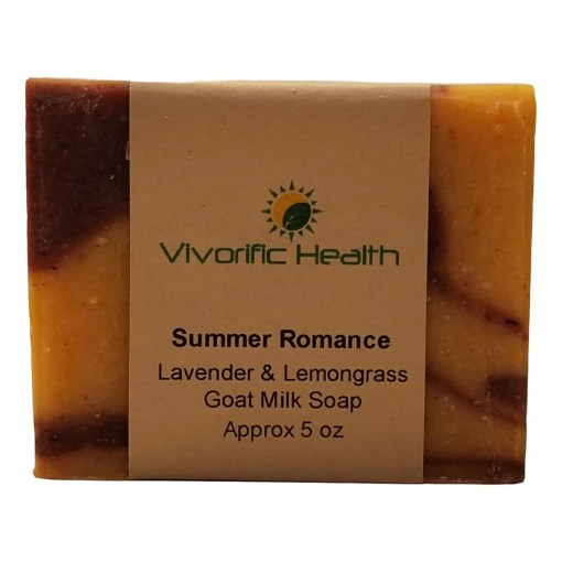 Summer Romance Goat Milk Soap - Vivorific Health
