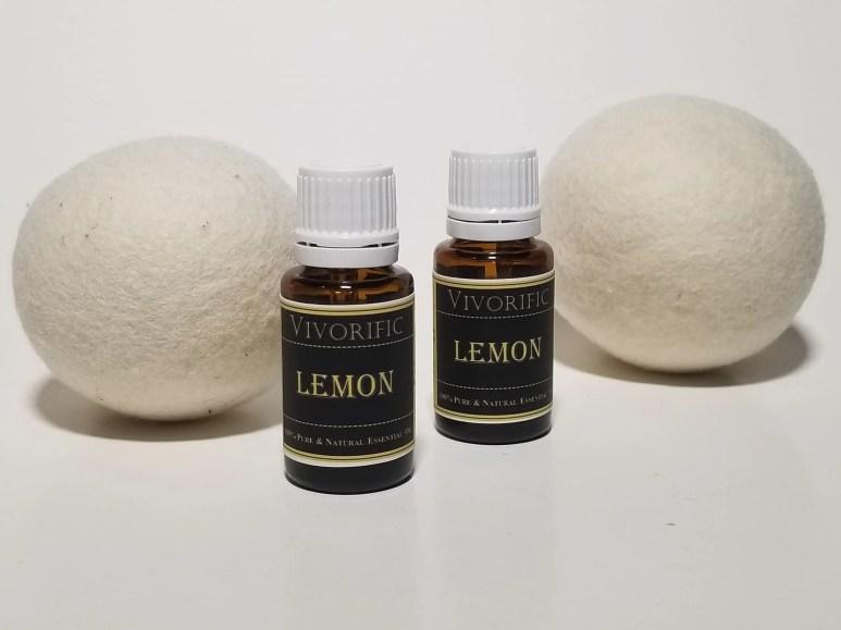 Essential oils for dryer balls-Lemon Essential Oil-Vivorific Health
