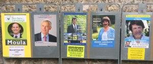 Panneau élection municipale lamorlaye 2017