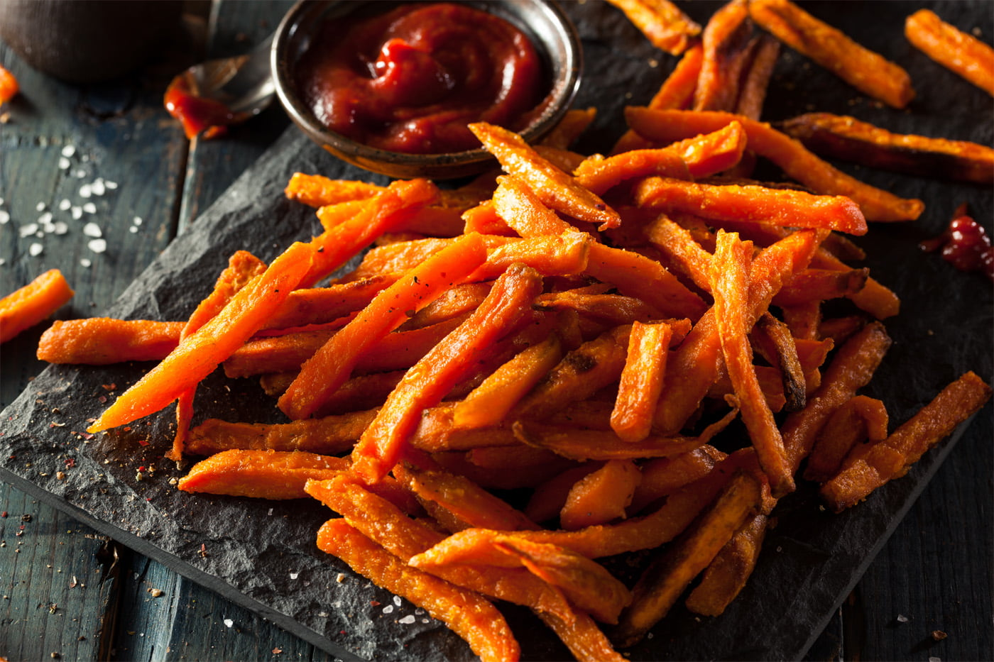 How to Make Garlic Sweet Potato Fries
