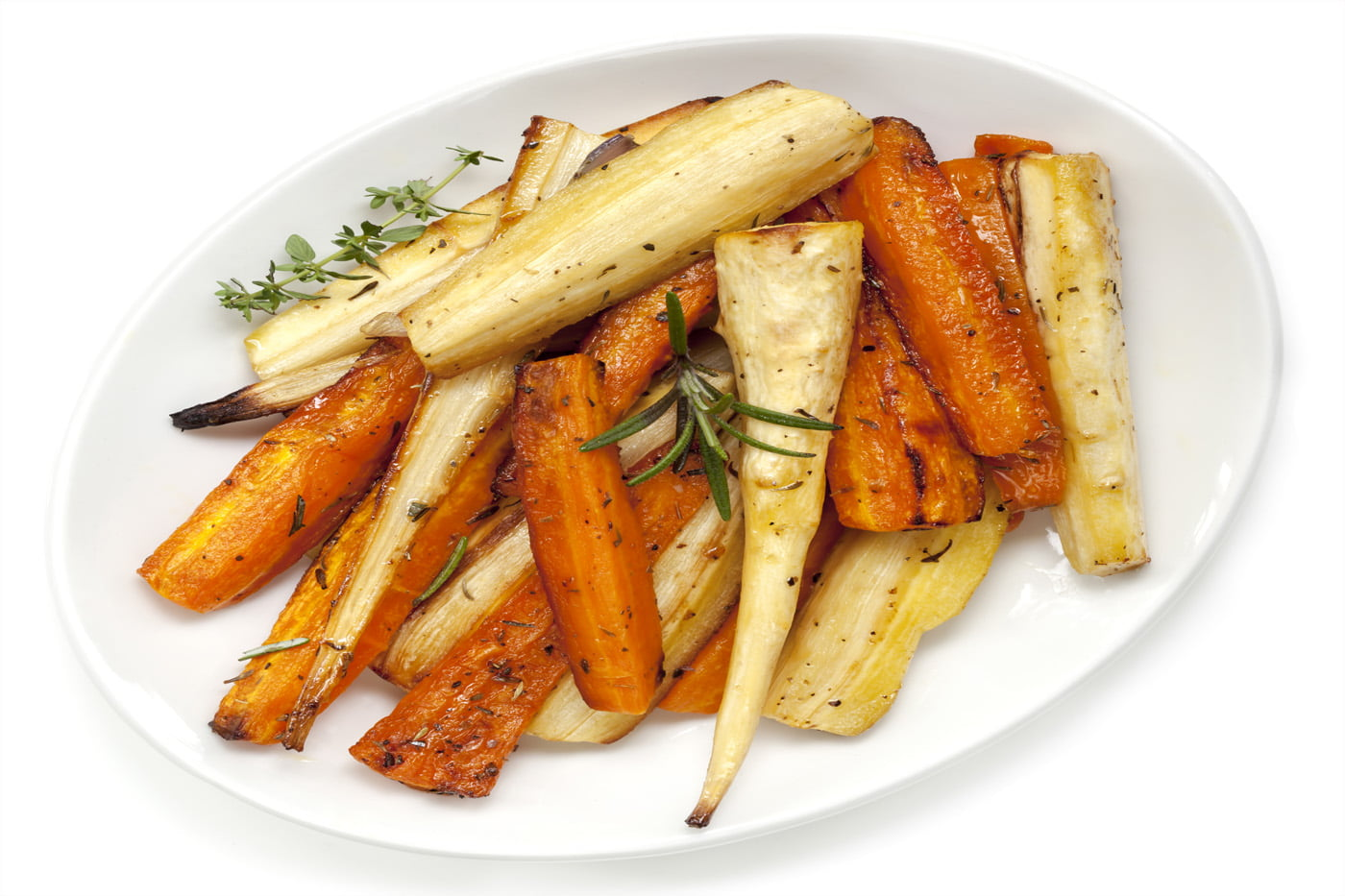 How To Make Sticky Maple-Glazed Parsnips And Carrots