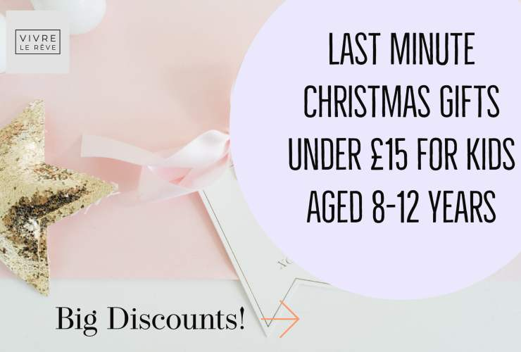 Last Minute Christmas Gifts Under £15 for Kids Aged 8-12 Years