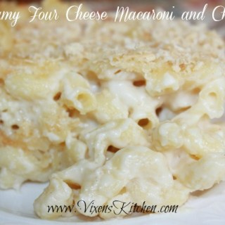 Creamy Four Cheese Macaroni and Cheese