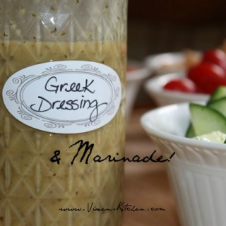 Greek Dressing and Marinade