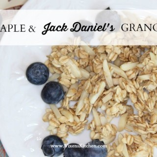 Maple & Jack Daniel's Granola