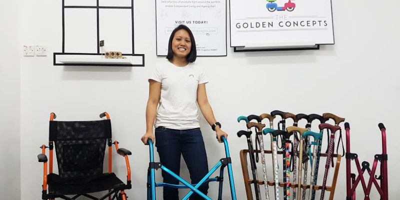 Vanessa, Co-founder of The Golden Concepts