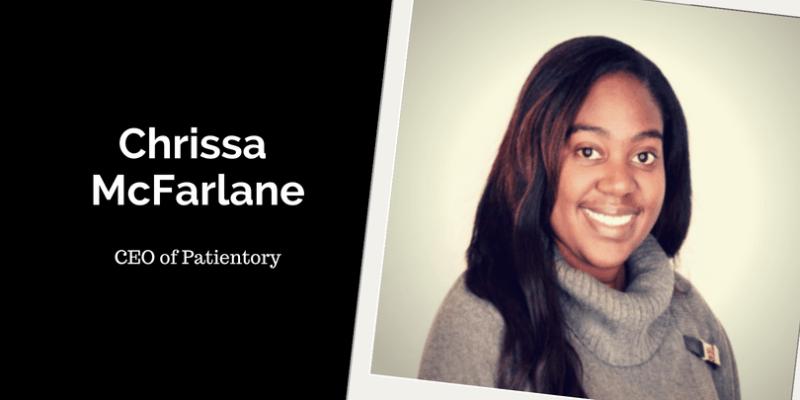 Chrissa McFarlane, CEO of Patientory