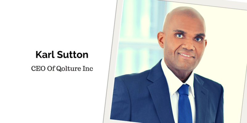 Karl Sutton, CEO Of Qolture Inc
