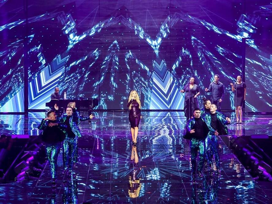 Mariah Carey Performing Live Concert at Alibaba.com