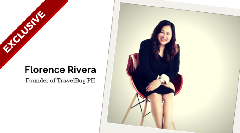 Florence Rivera, Founder of TravelBug PH