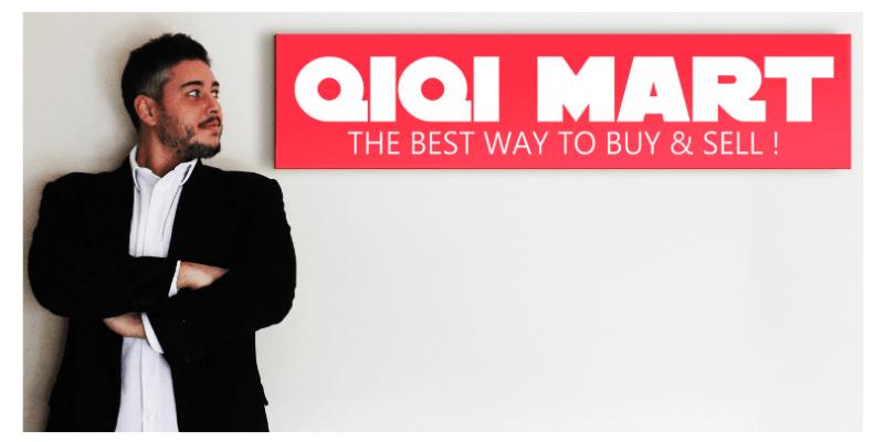 Gianmario De Simone, CEO and founder of QIQI MART