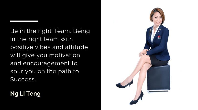 Ng Li Teng advice on business