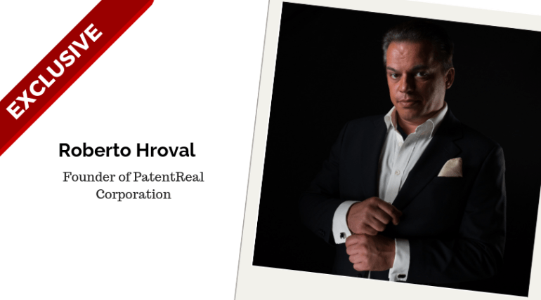 Roberto Hroval PatentReal Corporation