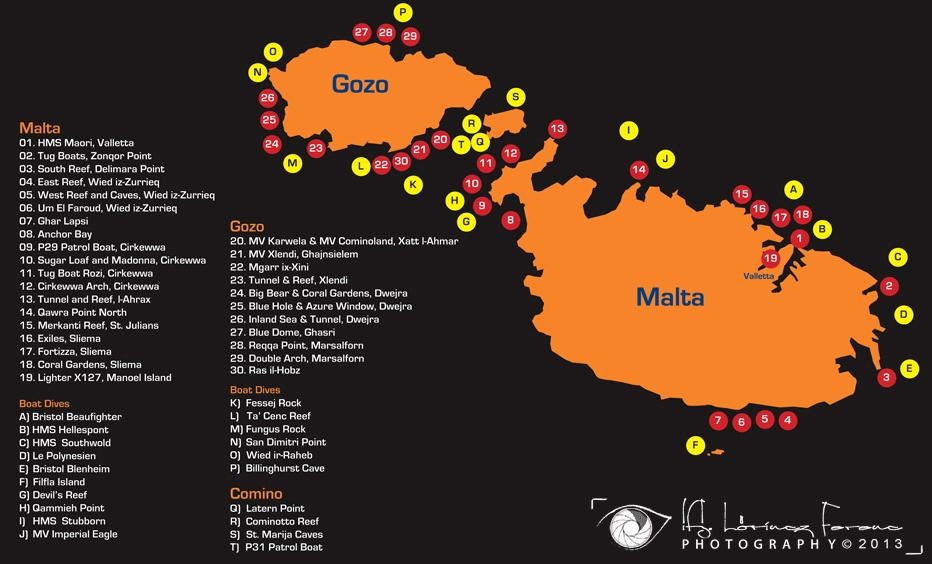 malta dive map LF