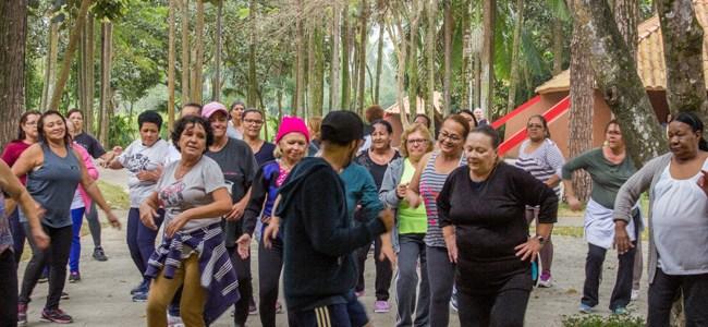 PVT promove atividades educativas no núcleo de lazer Itaim Biacica, na Zona Leste