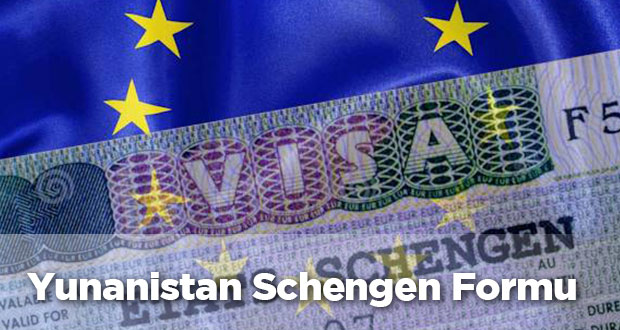 Yunanistan Schengen Vizesi Başvuru Formu