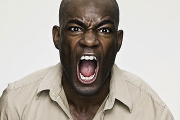 The Angry Black Man