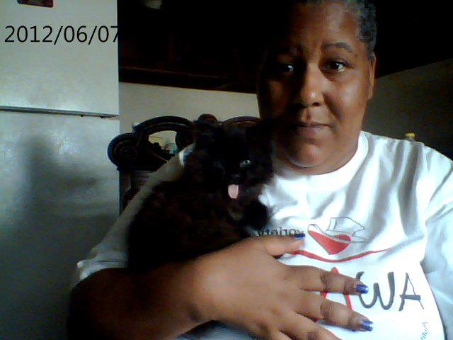 "Onyx & I in ""happier"" times"