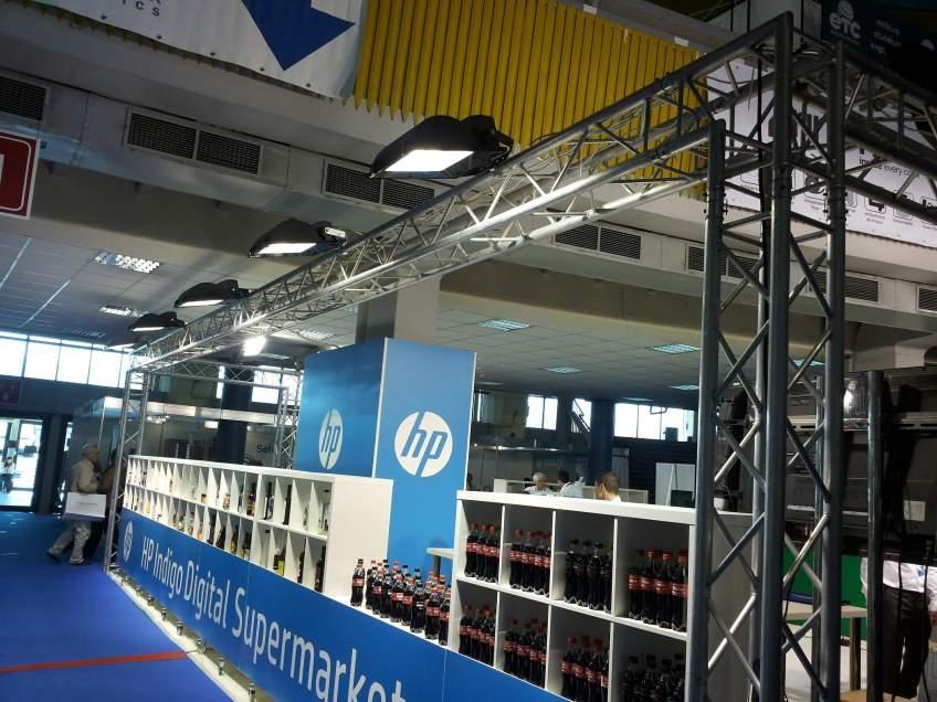 PRINTMAN - Constructie stand expozitional de prezentare la expozitia Print & Sign 2014