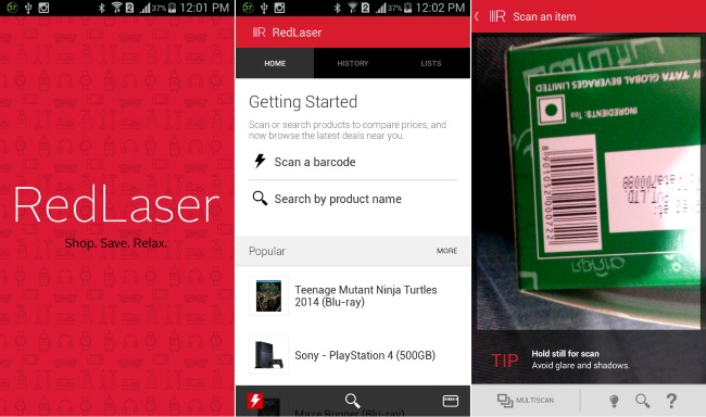 Best QR code reader android apps 2016.