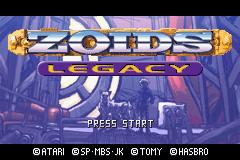 Zoids Legacy Screenshot 1