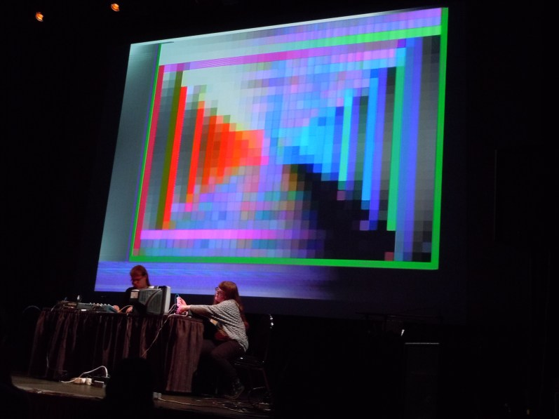J + C Feedback Factory Live at the Vancouver New Music Festival, October 2011