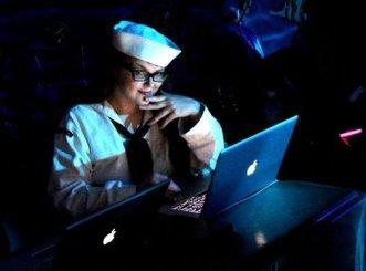 VJ Carrie Gates as a sailor - Photo by Anna Hanson