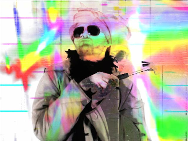 Ze Hammerdance - Video Still by Carrie Gates Featuring Jason Cawood from the Turner Prize*