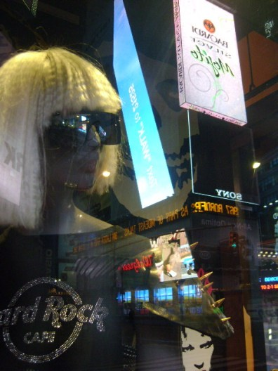 Mannequin of Times Square, New York - May 2011