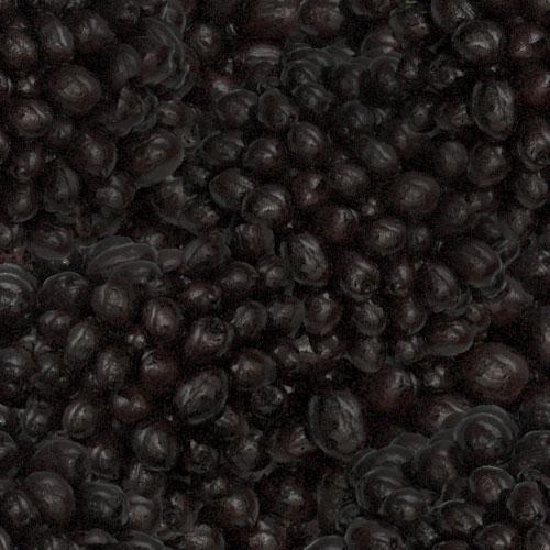 Pizzabook tile - black olive