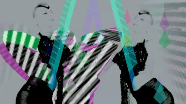 TUSK - The Rain Keeps Falling Down - Music Video Still by VJ Carrie Gates, 2013